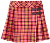 Hartstrings Big Girls' Big Multi Color Plaid Skirt