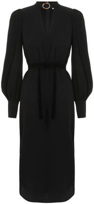 Zimmermann Buckle Collar Tunic Dress