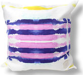 Kristi Kohut Sailor Stripes 18x18 Linen Pillow