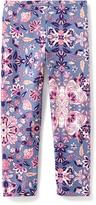 Old Navy Printed Jersey Leggings for Girls