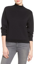 Halogen Mock Neck Sweatshirt (Petite)