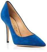 Salvatore Ferragamo Pointed Toe Pumps - Susi High Heel