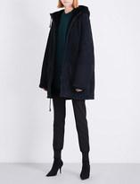 Yeezy Season 5 hooded shearling parka coat