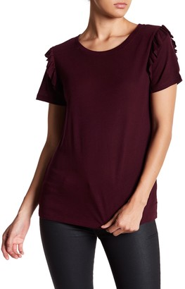 14th & Union Ruffle Shoulder Tee