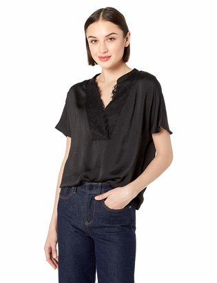 Vero Moda Women's Alba Short Sleeve Lace Top