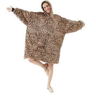 Oloey Oversized Sherpa Hoodie Wearable Blanket Hoodie Cozy and Comforatble Blanket Hoodie