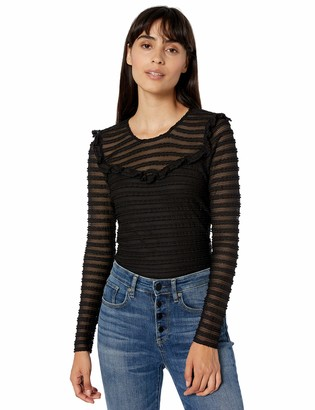Parker Women's Carmen Long Sleeve Fitted Lace Top
