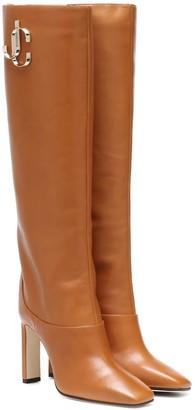 Jimmy Choo Mahesa leather boots