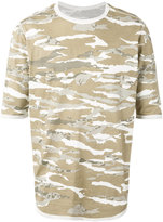 MHI camouflage print T-shirt - men - Organic Cotton - L