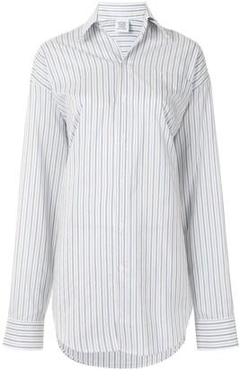 Vetements Stripe-Patterned Shirt