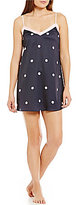 Kate Spade Dotted Charmeuse Chemise