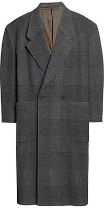 Fearofgodzegna Plaid Wool & Cashmere Top Coat