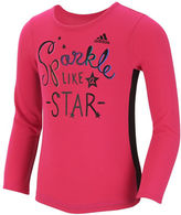 adidas Girls 2-6x Sparkle Like a Star Top