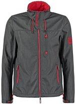 Superdry Light Jacket Matte Black Marl/rebel Red