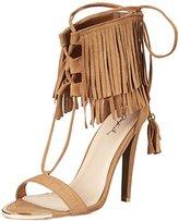 Qupid Women's Interest 123X Dress Sandal