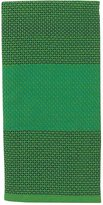 Kate Spade Colorblock Honey Comb Kitchen Towel - Picnic Green