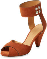 Isabel Marant Women's Meegan Solid Leather Sandal