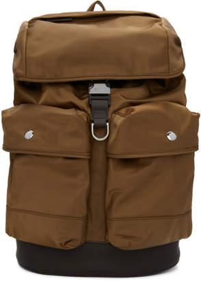 BOSS Brown Meridian Backpack