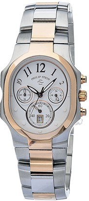 Philip Stein Teslar 22trg-frg-sstrgLadies WatchAnalogue QuartzWhite DialSteel Bracelet