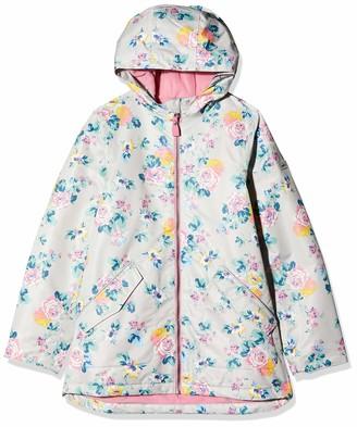 Joules Girl's Raindrop Raincoat