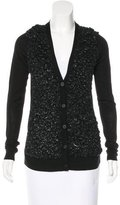 Vera Wang Textured Wool Cardigan w/ Tags