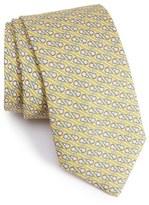 Vineyard Vines Lacrosse Stick Print Silk Tie