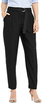 Oasis Luxe Utility Trousers, Black