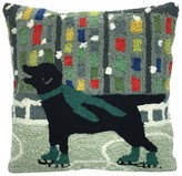 Liora Manné Holiday Ice Dogs Decorative Indoor/Outdoor Pillow