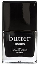 Butter London Nail Lacquer, Black & Blue Shades, Union Jack Black