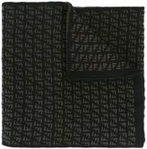 Fendi FF logo scarf - men - Wool - One Size