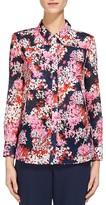 Whistles Floral Print Cotton Voile Shirt