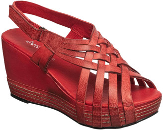 Antelope Women's Sandals Red - Red Woven Leather Sandal - Women
