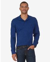Nautica Big & Tall Classic Fit Long Sleeve Polo Shirt