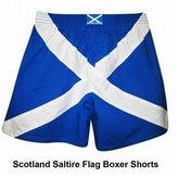 England Scotland Saltire Flag Boxer Shorts