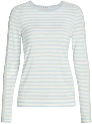 Akris Punto Glitter-Stripe Sweater