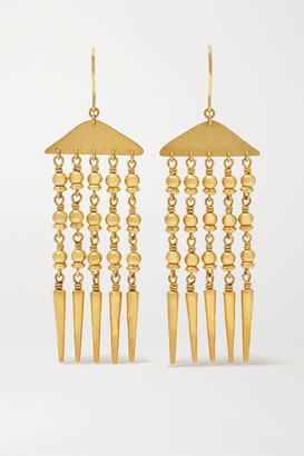 Pippa Small 18-karat Gold Earrings - one size