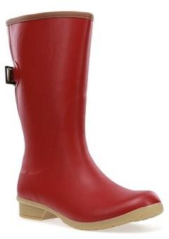 Chooka Women's Bainbridge Adjustable Waterproof Mid Rain Boot