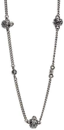 Alexander McQueen Skull Short Necklace