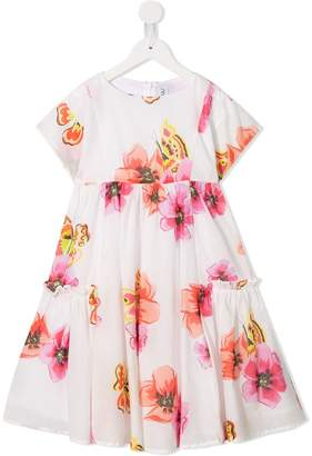 Simonetta floral occasion dress
