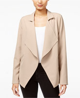 Kensie Draped Open-Front Jacket