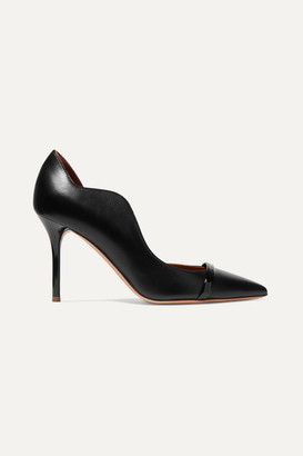 Malone Souliers Morrissey 85 Leather Pumps - Black
