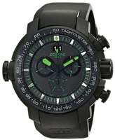 Zodiac ZMX 50mm Special Ops Black Stainless Steel With Rubber Band ZO8560 Watch