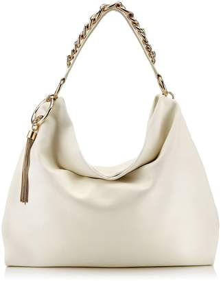 Jimmy Choo Large Leather Callie Shoulder Bag
