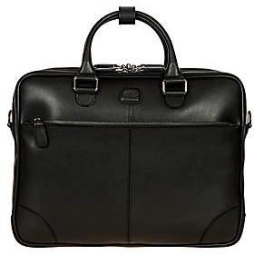 Bric's Men's Varese Business Saffiano Leather Large Briefcase