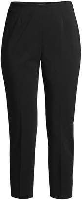 Peserico Side Zip Four Way Stretch Ankle Pants