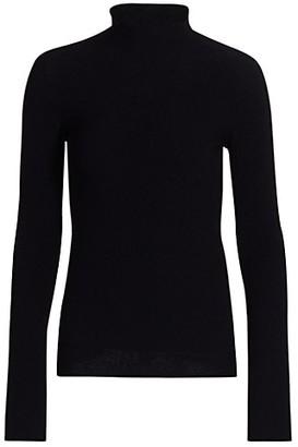 Giorgio Armani Moss Stitch Mockneck Knit Sweater