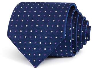 Bloomingdale's The Men's Store at Alternating Dot Classic Tie - 100% Exclusive