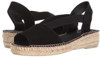 Toni Pons Ella (Black Suede) Women's Shoes