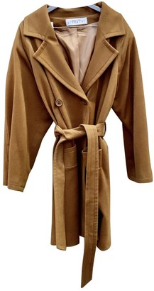 Givenchy Camel Wool Coat for Women Vintage