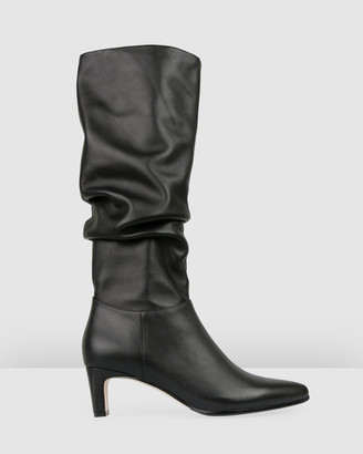 Bared Footwear - Women's Black Boots - Songlark Heeled Boots - Women's - Size One Size, 35 at The Iconic